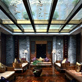 新中式装饰墙板案例