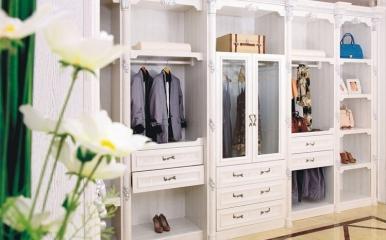 欧式风格衣柜衣橱